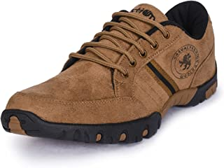 Action Beige Lace-Up Casual Shoes for Men