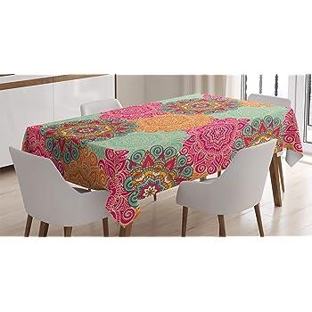 Color Beige 240 x 140cm 240 x 140 cm Toalla ANRO Mantel de Hule para Mesa