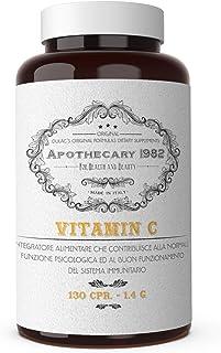 Vitamina C 1000mg 130 Compresse Dulàc - Vitamina C Pura - Integratore Vitamina C Masticabile Made in Italy, Notificato al ...
