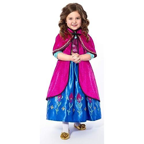 1e9907a3d6b15 Little Adventures Scandinavian Princess Dressup Costume Hooded Cloak
