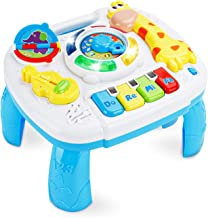 baccow Baby Toys 6 to 12-18 Months Musical Educational Learning Activity Table Center Toys for Toddlers Infants Kids 1 2 3...