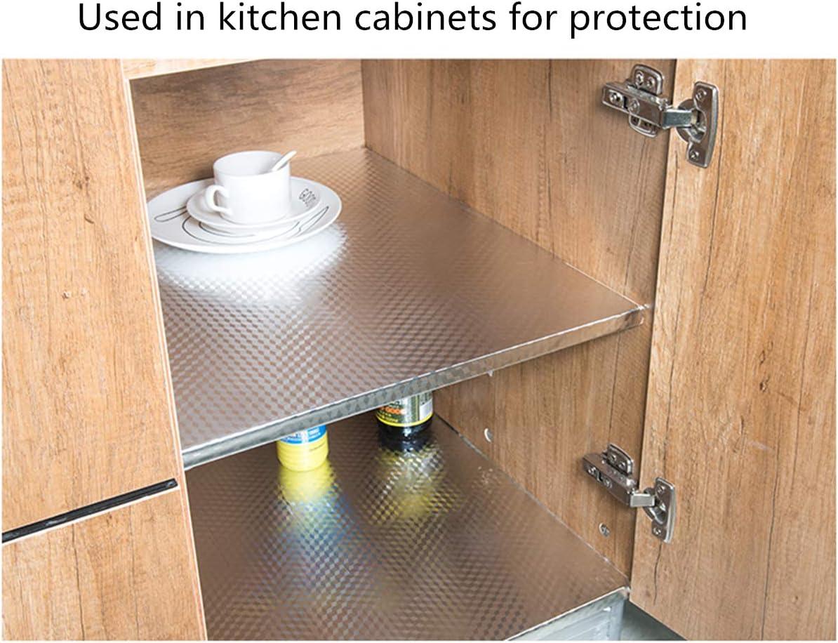 cuisini/ère tiroir meubles Hode Papier peint autocollant dor/é r/ésistant /à lhuile pour cuisine placard /étanche 40 cm x 300 cm