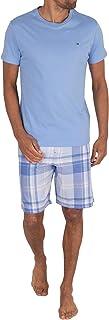 Tommy Hilfiger Men's Cn Ss Short Woven Set Check Pyjama