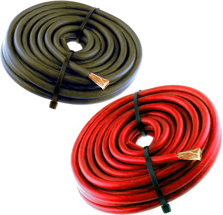 Albuquerque Mall 20FT 4 Gauge Primary Speaker Wire Audio Car Power Great interest 10' Ground Amp