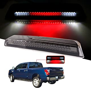 cciyu LED 3rd Brake Lights Cargo Lamp Assembly Automotive Tail Lights Smoke Lens Replacement fit for 2004-2015 Nissan Titan 2005-2016 Nissan Frontier 26590-EA800