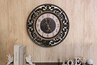 Pan Emirates Lexie Wall Clock, Black - D60cm