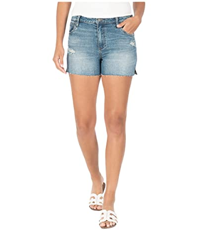 KUT from the Kloth Gidget High-Rise Shorts in Accuracy/Medium Base Wash (Accuracy/Medium Base Wash) Women