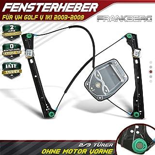 Frankberg Elektrisch Fensterheber Ohne Motor VorneRechts für GolfV 1K1 2/3Türer 2003 2009 1K3837462
