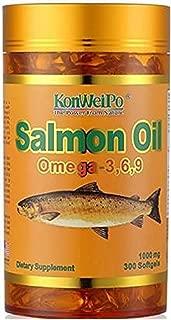 Kon-we-i-Po Al-as-ka Deep sea Salmon Oil om-e-ga- 3 6 9 Softgels