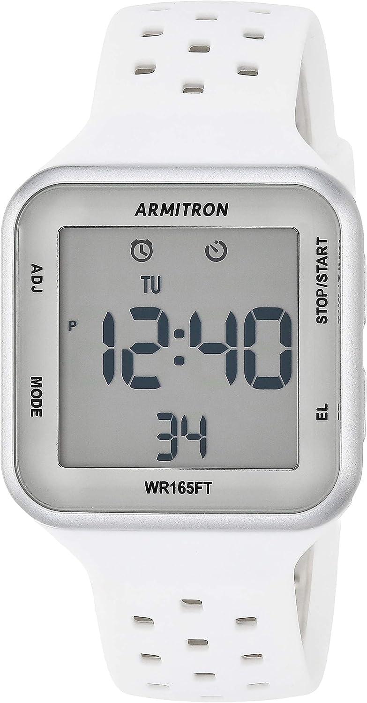 Armitron Sport Unisex online shopping San Diego Mall 40 8417 Chronograph Digital Strap Silicone