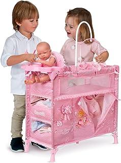 Decuevas Toys - Armario cambiador Maria plegable, multicolor