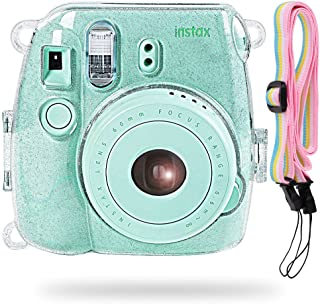 Katia Camera Funda para cámara instantánea Fujifilm Instax Mini 9 - Transparente  también para Fujifilm INSTAX Mini 8 Ins...