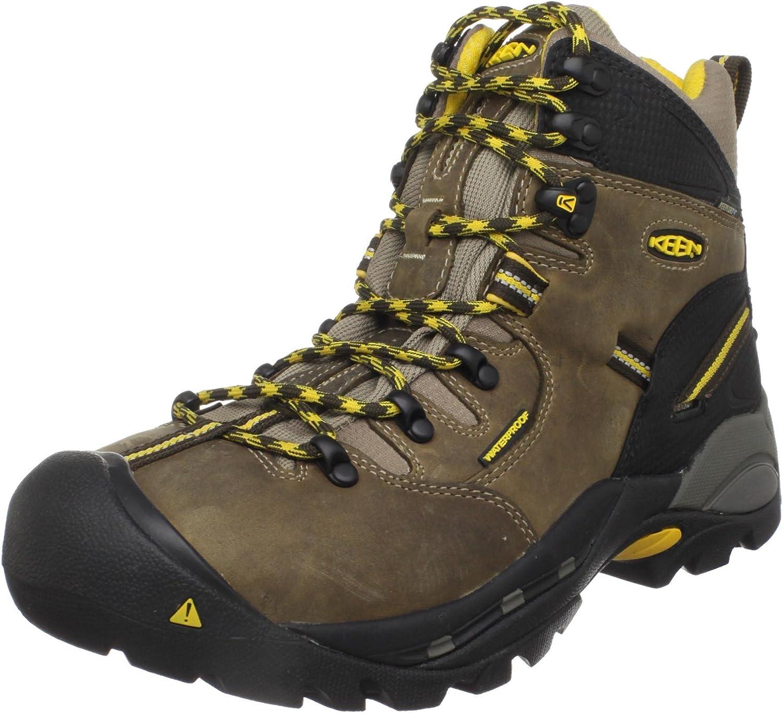 KEEN Utility Utility Utility herrar Pittsburgh Steel Toe Work Boot,Slate svart,9 EE USA  billig grossist