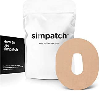 SIMPATCH – Dexcom G6 Adhesive Patch (25-Pack) – Waterproof Adhesive, CGM Patches – Multiple Color Options