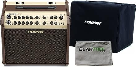 Fishman PRO-LBX-600 Loudbox Artist Acoustic Guitar Amp w/Geartree Cloth and Sli