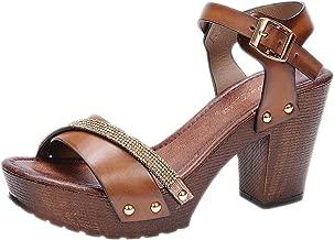wooden wedge heels