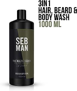 SEB MAN The Multi-Tasker Hair Beard and Body Wash, 1000 ml