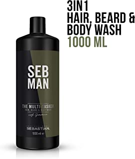 SEB MAN The Multi-Tasker Hair Beard and Body Wash, 1L