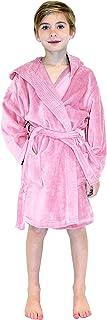 Hooded Boys, Girls Bathrobe - Kids Terry Velour Robes Used in 4,5 Star Hotels