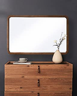 Best rectangle wood wall mirror Reviews