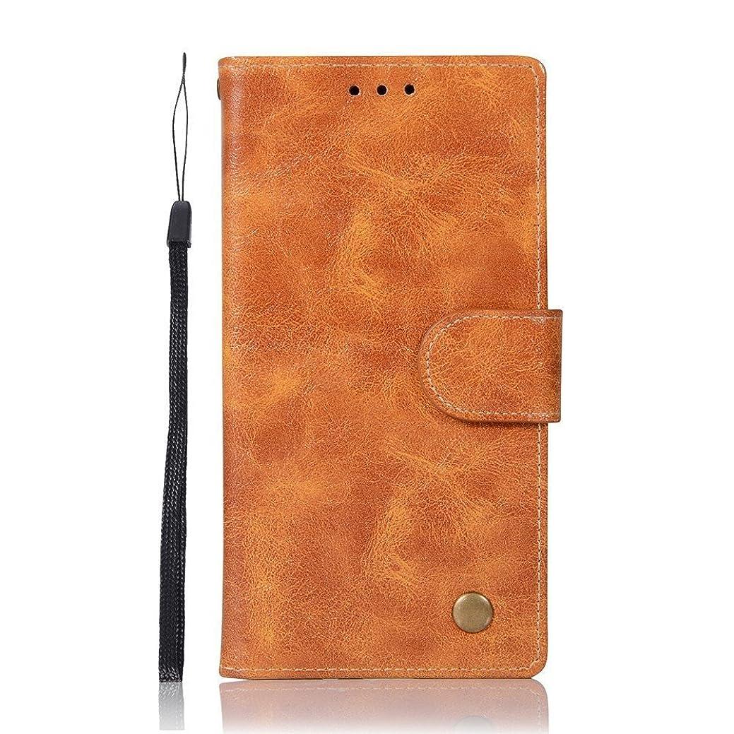 腹部露出度の高いに向けて出発Apple iPod Touch (第5世代/第 6世代) 用 ケース【duss】手帳型 レザー カバー ストラップ 付きレトロ高級PU + TPU ケース アイホン7 ケース ストラップホール付きiPod Touch 5/6携帯カバー シンプル おしゃれ カード 収納 スタンド機能 マグネット カードポケット 耐摩擦 耐衝撃 防塵 ケース-(イエロー)