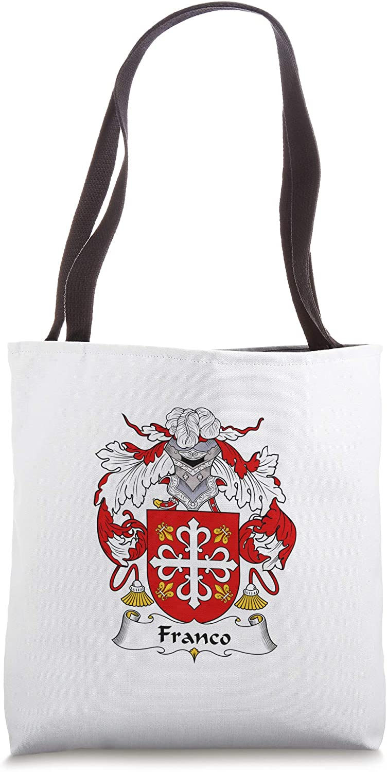 Franco Coat of Arms - Family Crest Tote Bag