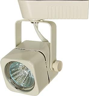 Direct-Lighting 50012 White MR16 Square Low Voltage Track Lighting Head