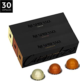 Nespresso VertuoLine Coffee, Flavored Assortment, 30 Capsules