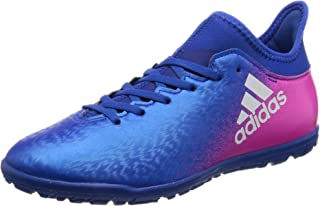 Performance Boys Kids X 16.3 TF J Soccer Asftro Turf Shoes Boots - Blue