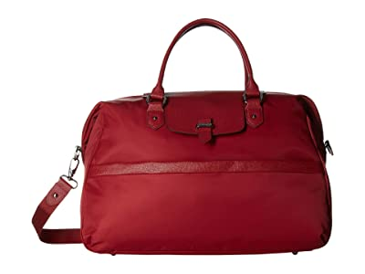Lipault Paris Plume Avenue Duffel Bag (Garnet Red) Duffel Bags
