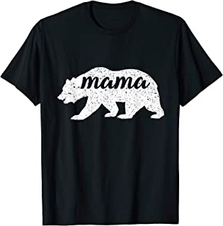 Cute Vintage Mama Bear Mothers Day Gift T-Shirt
