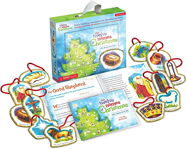 The Twelve Names Of Christmas Children S Christian Advent Activity And Kid S Advent Calendar Alternative With Ornaments