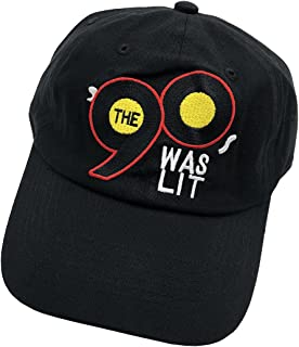 Dad hat Baseball Cap Number 90s Lit Embroidered Cap Adjustable Cotton Hat Unisex