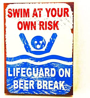 OHIO WHOLESALE, INC. Swim at Your own Risk. Lifeguard on Beer Break.