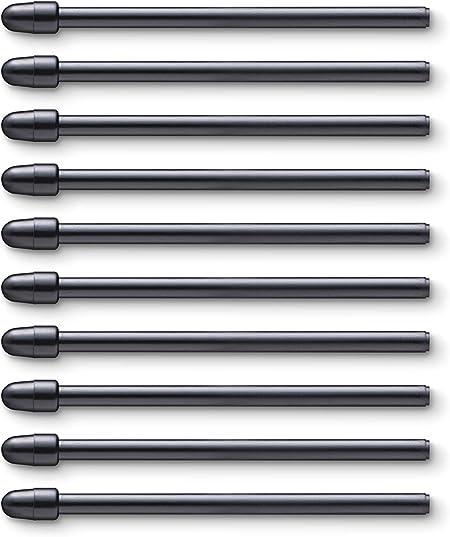 Wacom Ack22211 Set Of 10 Standard Tips For Pro Pen 2 Computers Accessories