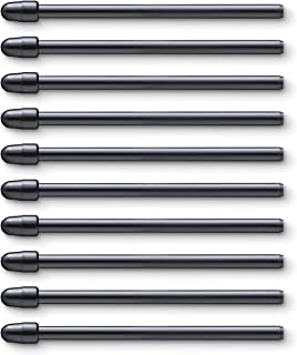 Wacom ACK22211 Kit 10 Standard Tips for Pro Pen 2, Black