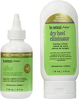 Callus Eliminator Bundle: Callus Eliminator 4oz. and Dry Heel Eliminator 4oz