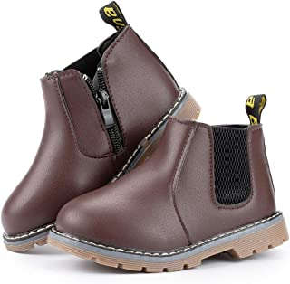 Toddler Kids Boots Girl Boy Waterproof Shoes Rain Hiking Winter Snow Booties Baby Short Ankle Martin Shoe