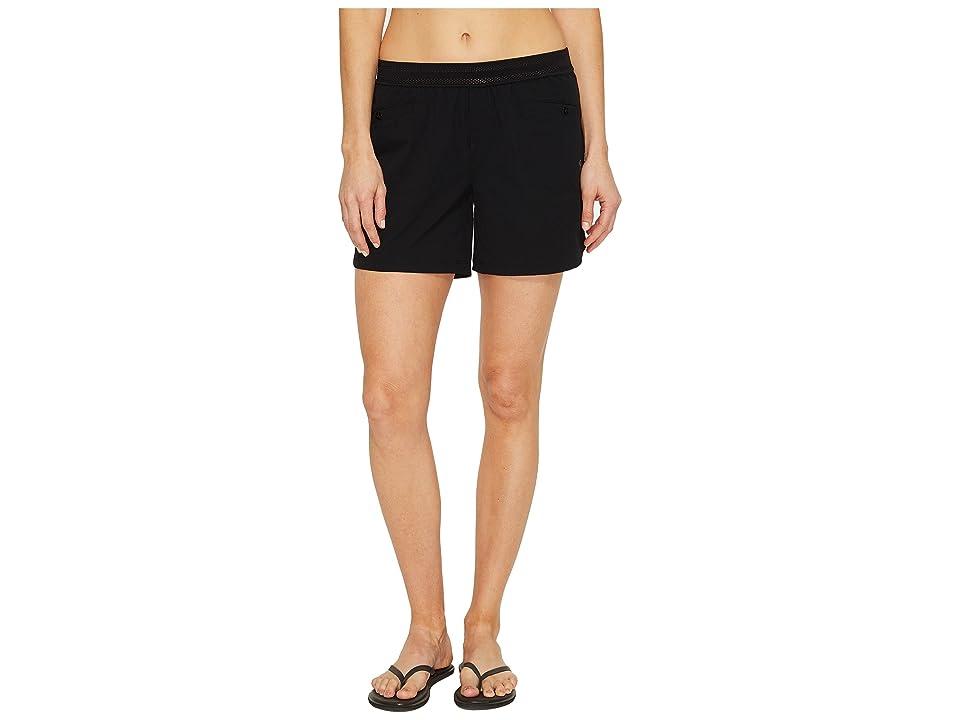 Mountain Hardwear Right Bank Scrambler Shorts (Black) Women