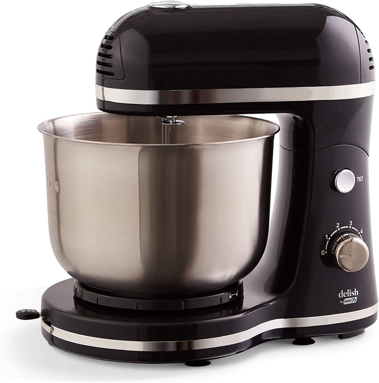 Delish shipfree by Dash Compact Stand Award Mixer Quart Dou Beaters 3.5 with