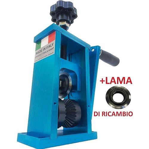 Utensili-Tools-Shop Machine pour dénuder des câbles, outil à dénuder, récupération de cuivre + lame de rechange