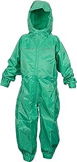 DRY KIDS - Waterproof Rainsuit 5-6 Yrs Green