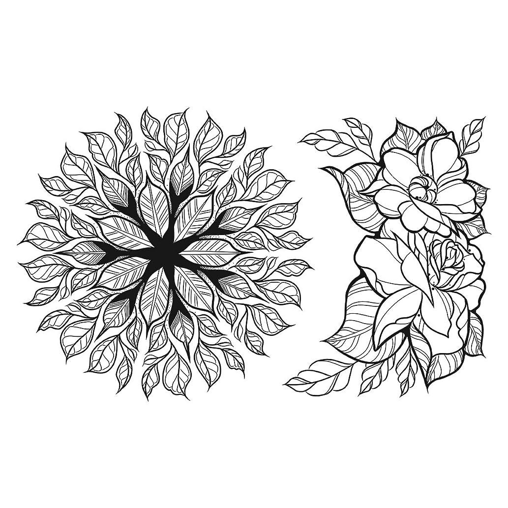 Spellbinders SBS-188 Stamp Set Floral Love Cling Foam