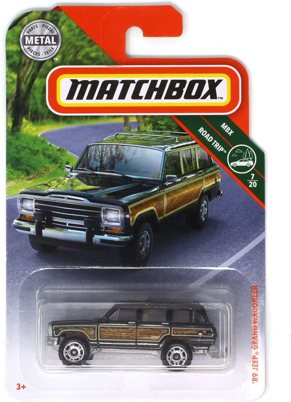Matchbox 2019 MBX Road Trip 7 20 Blac - '89 Jeep 年末年始大決算 Wagoneer 卓越 Grand