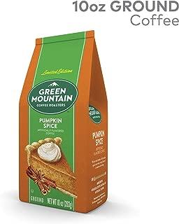 Green Mountain Coffee Roasters Green Mountain Coffee Pumpkin Spice, Single Serve Flavored K-Cup Pods, Light Roast, 10 Count, Pumpkin Spice, 10 Ounce