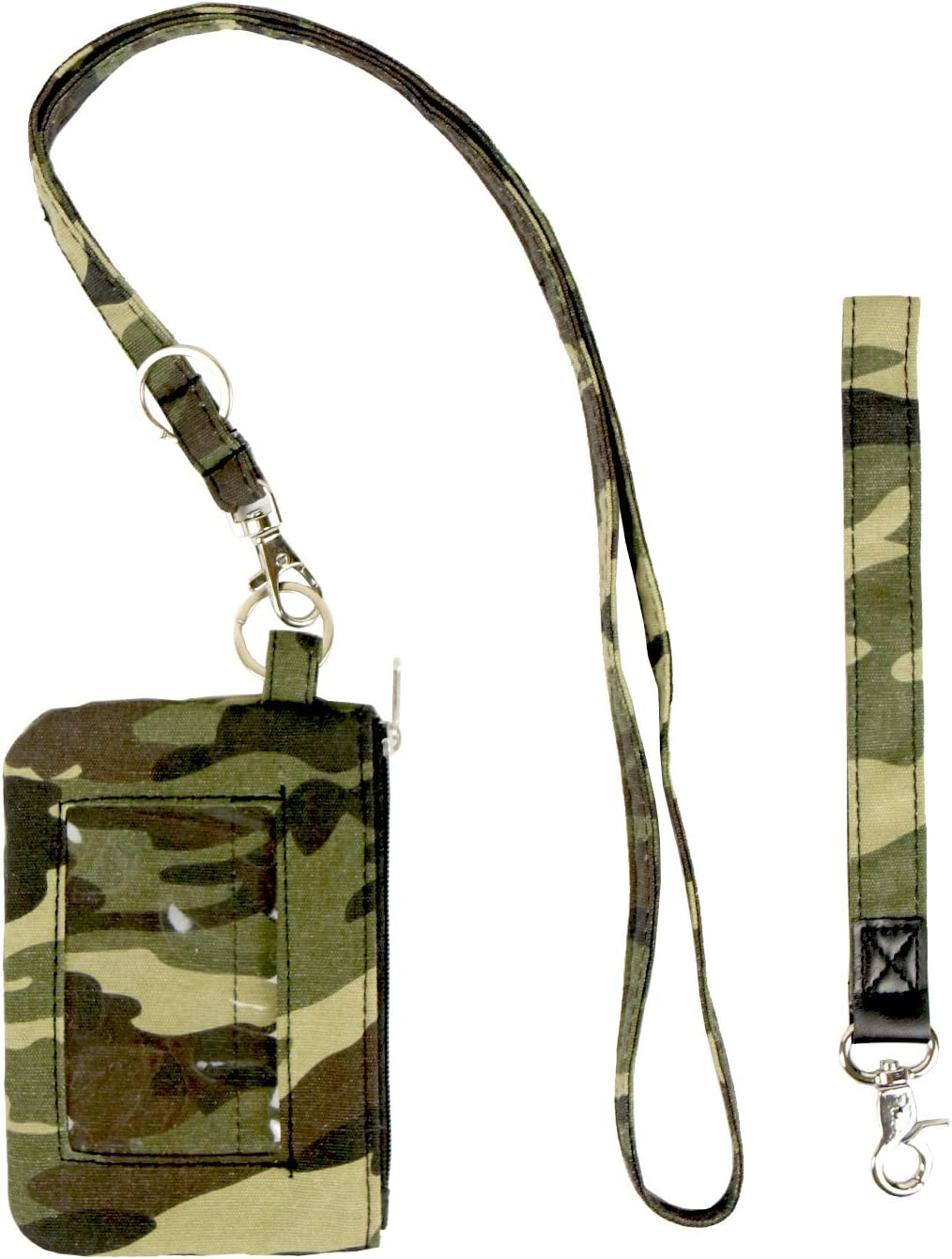 Sale Army Green Lanyards For Id Badges Box,Denim fabric Keychain 2021 spring and summer new