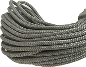 Blue Ox Rope Double Braid Polyester 5/16 inch, Silver