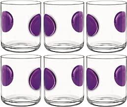Bormioli Rocco Giove Vasos Multiusos 310ml - Púrpura - 6 unidades