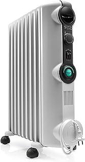 comprar comparacion De'longhi RADIA S Radiador con Comfort-Temp, 9 Elementos, Blanco y Negro