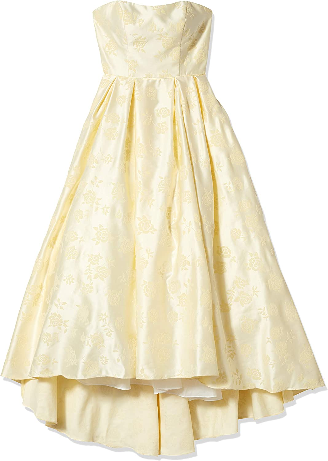 Ranking TOP7 Betsy Adam Women's Long Columbus Mall Ball Gown Strapless Hi-lo